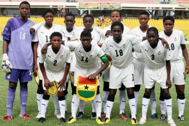 L'équipe ghanéenne (photo DR)