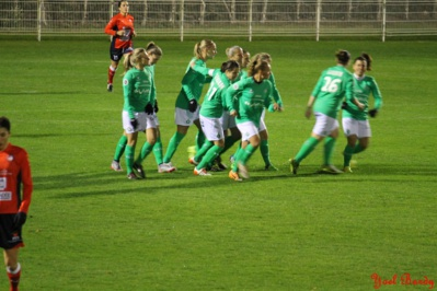Palacin a ouvert le score dès la première minute (photo Yoël bardy)