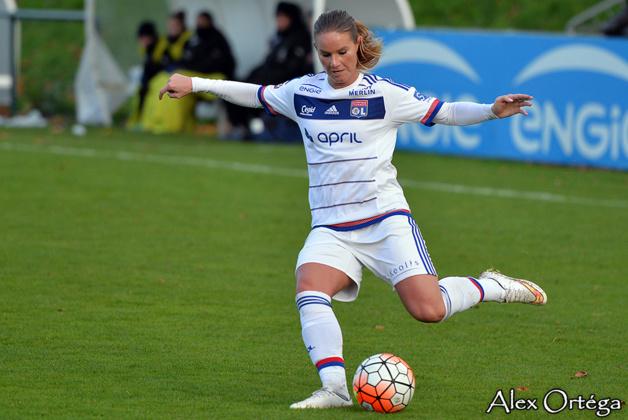 Amandine Henry a inscrit son quatrième but de la saison