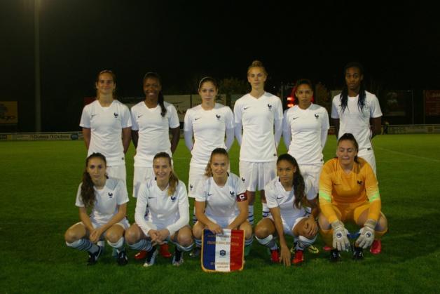 Le onze français (photo Genêts Anglet)