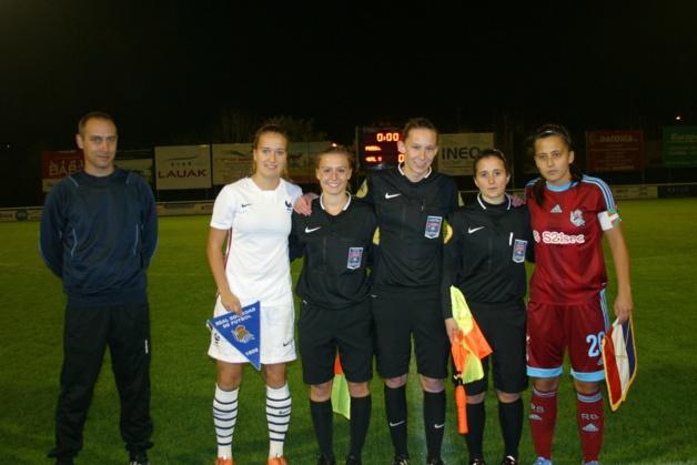 U19 - Les Bleuettes s'imposent face à la REAL SOCIEDAD (4-0)