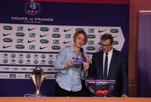Sandrine Soubeyrand et Philippe Bourgeois (photo FFF.fr)