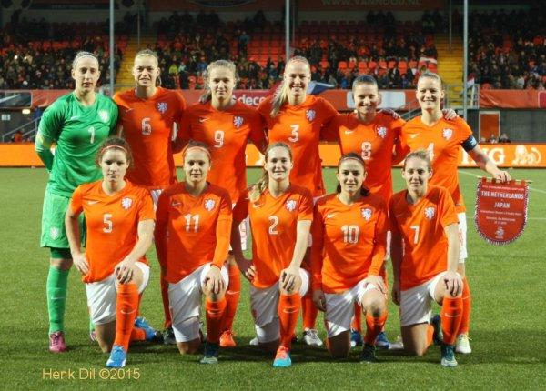 Le onze hollandais (photo Henk Dil)