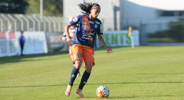 Andressa Alves jouera son premier match face à Lyon (photo MHSC)