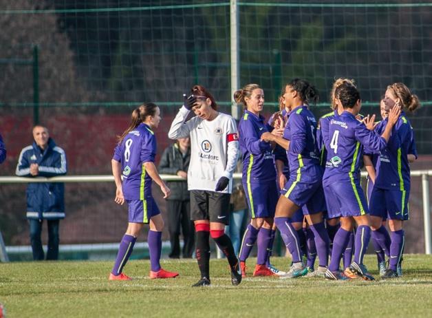 Grenoble-Claix, meilleure attaque de D2 (photo Le Sport Dauphinois)