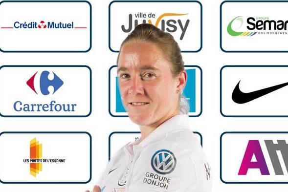 D1/D2 - Julie MACHART quitte JUVISY pour LILLE