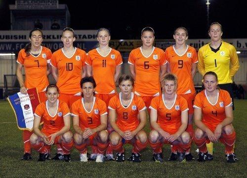 L'équipe hollandaise entraînée par Vera Pauw