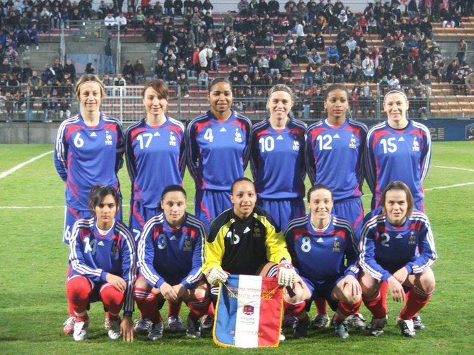 L'équipe tricolore