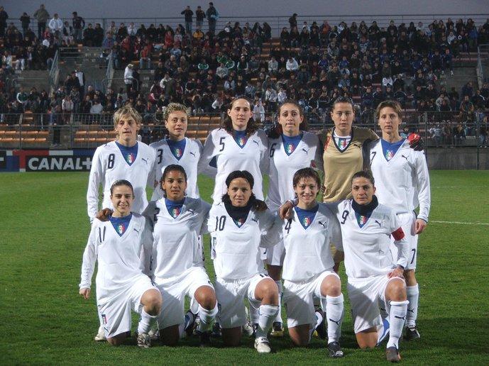 L'Italie de Patrizia Panico (en bas à droite)