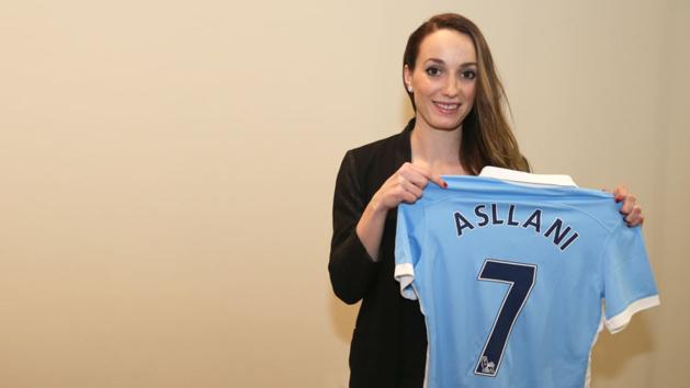 Asllani rejoint Manchester City (photo MCFC)