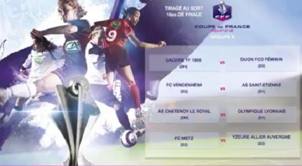 Coupe de France (16es de finale) - Les D1 épargnées au tirage : 8 matchs entre D1 et D2