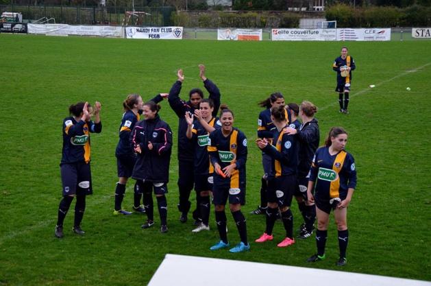 Les Bordelaises ont réussi une performance historique (photo facebook FCGB)