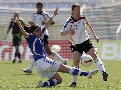 118e et 119e buts pour Birgit Prinz en sélection (photo : dfb.de)