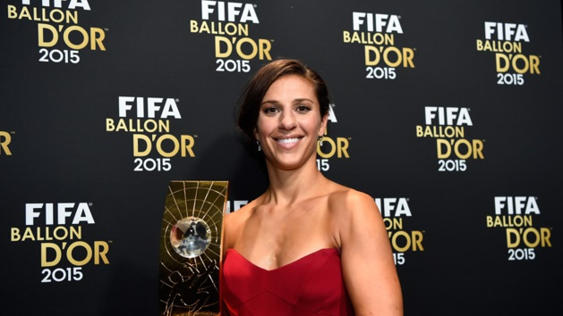 Carli Lloyd (photo FIFA)