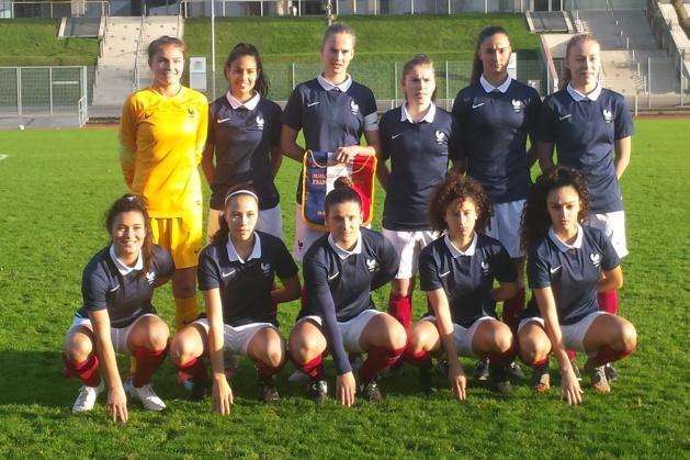 Le onze tricolore lors du dernier match joué contre l'Angleterre en décembre(photo Sylvain Jamet)