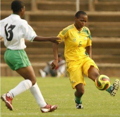 Photo du match opposant l'Afrique du Sud et le Zimbabwe
