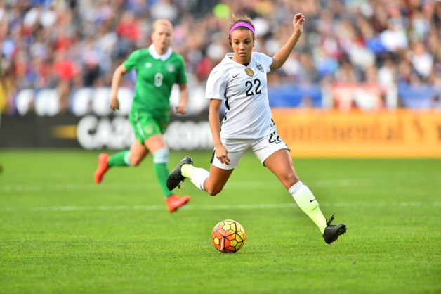 Mallory Pugh débute en sélection par un but devant 23 309 spectateurs (photo USSoccer)