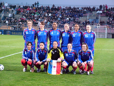 France - Italie en janvier 2008 (photo footofeminin.fr)