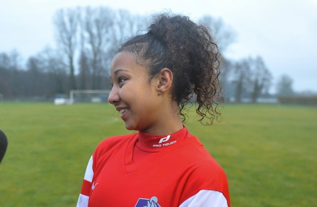La jeune buteuse (photo Denis Beylet/LAFA)