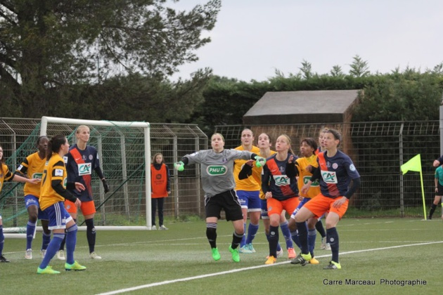 Mélodie Carré et la VGA auront fait douter Montpellier