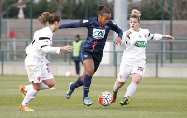 Rosana et le PSG se qualifient pour les demies (photo PSG.fr)