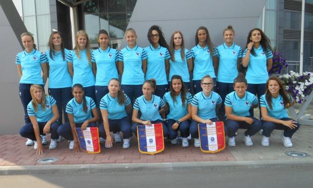 la sélection U17 lors du tournoi en septembre (photo FFF)