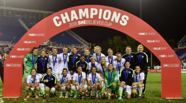 Les Etats-Unis remportent leur tournoi (photo US Soccer)