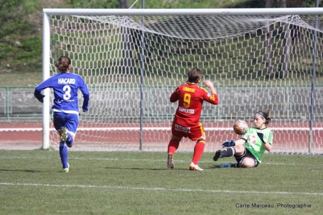 Lemaitre a inscrit le second but (photo Marceau Carré)