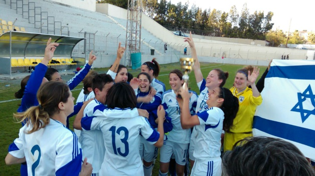International - L'ISRAEL remporte l'Aphrodite Cup