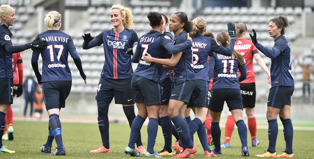 Les Parisiennes se sont remis en jambes (photo PSG.fr)