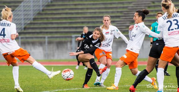 Camille Catala et Juvisy peuvent retrouver la 3e place en cas de victoire (photo Giovani Pablo)