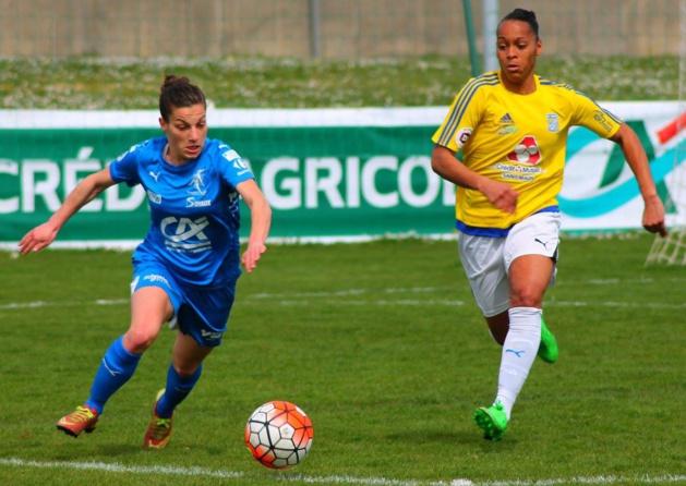 Laura Bourgouin a inscrit le second but (photo Maëlle Fonteneau)