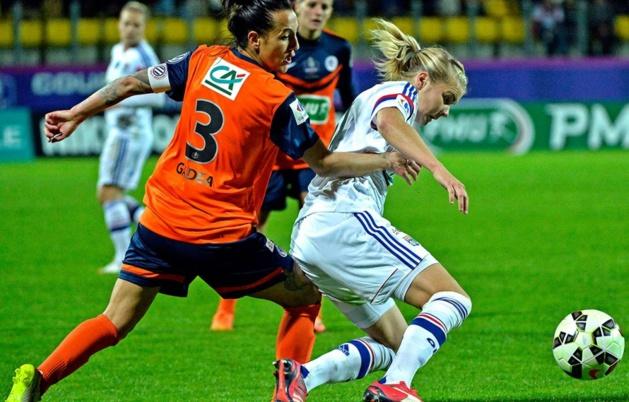 Gadea face à Hegerberg, deux joueuses qui pourraient se retrouver le 15 mai prochain à Grenoble (photo archive)
