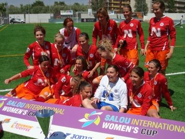 Montpellier victorieux du tournoi international de Salou