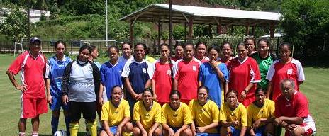 L'équipe de Tahiti