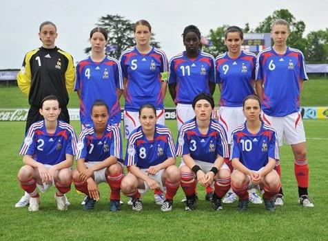 L'équipe de France en demi (photo : UEFA)