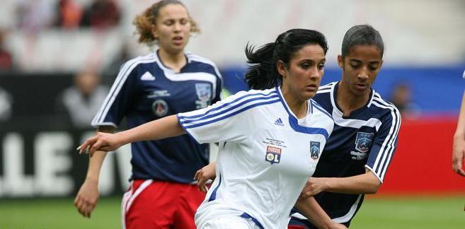 Louisa Necib, buteuse et sortie sous les applaudissements du stade de France