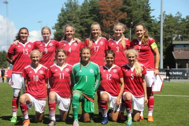 L'équipe danoise (photo DBU)
