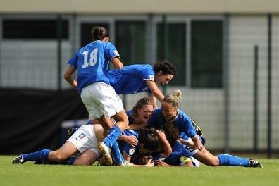 Bonetti délivre les Italiennes (photo : UEFA)