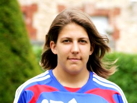 Marine Cacciaguerra, appelée pour suppléer la blessure d'Astrid Chazal