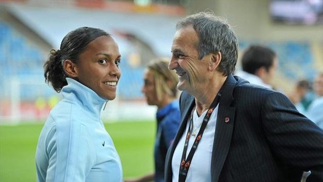 Marie-Laure Delie et Bruno Bini