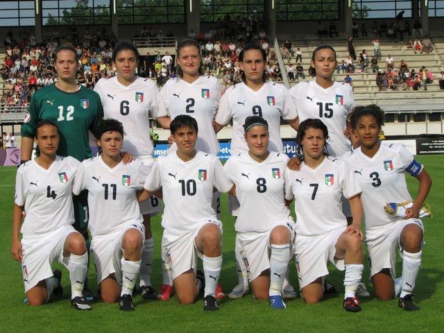 L'équipe italienne