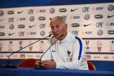 Bleues - Les réactions des sélectionneurs Philippe BERGEROO (France) et Bruno BINI (Chine)