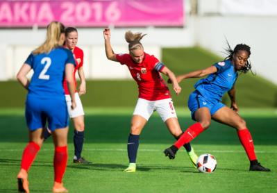 Katoto et les Bleuettes sont restées muettes (photo UEFA.com)