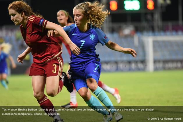 Match à rebondissements entre Espagnoles et Néerlandaises