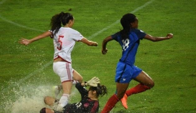 Katoto sur le second but, a bénéficié des conditions de jeu (photo SFK)
