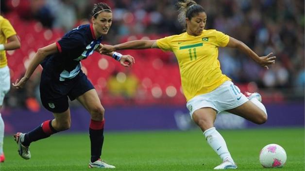 Cristiane et le Brésil rêvent d'une première médaille d'or à Rio (photo FIFA)