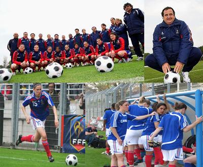 Equipe de France A/A' : 35 joueuses en stage