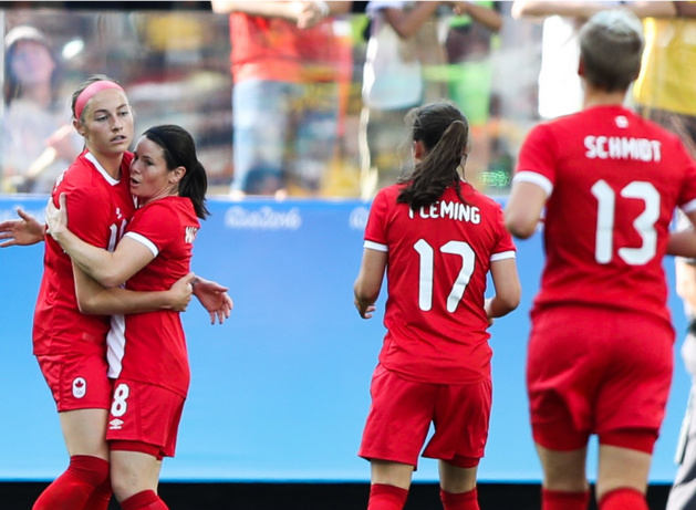 Le Canada a géré son match (photo FIFA.com)