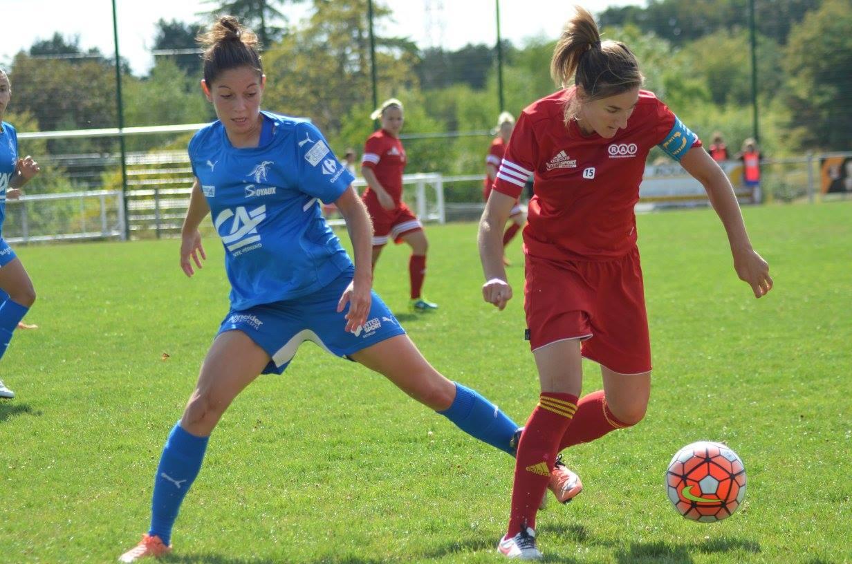 Soyaux et Rodez font match nul (1-1) (photo ASJ Soyaux Charente)